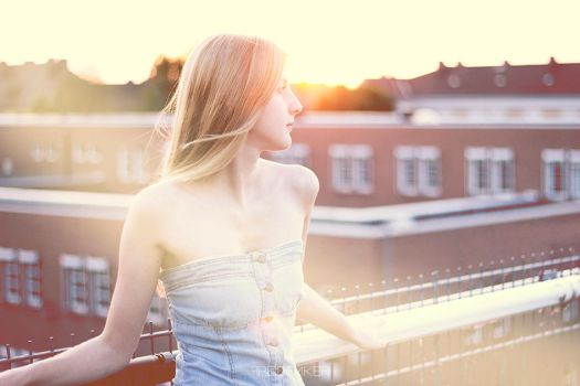 Dawn on the roof by Freidenker-photo