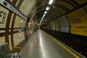 London Underground by Sheiabah-Stock