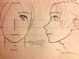My Luciano ?????? (2P! Italy) Sketch-Out by Myindiansummer