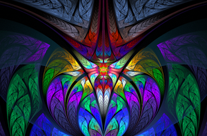 Insignia - Fractal Art by CMWVisualArts