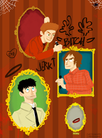 Haunted Mansion Supernatural by sweetlynumb63