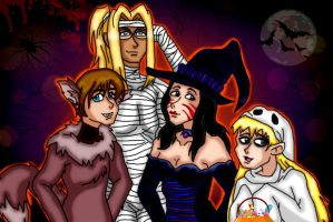 Halloween!!! by kaitlynrager