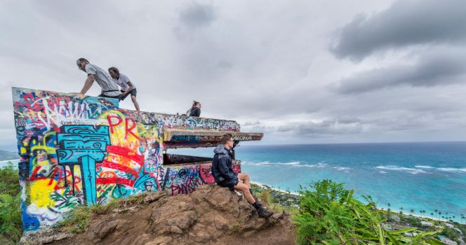 Lanikai Pill Boxes by Jonathan-Flash