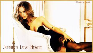 Jennifer Love Hewitt Wallpaper by rclarkjnr