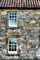 Modern Windows, Ancient Walls by basseca