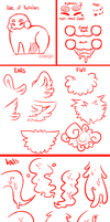 CLOSED SPECIES: Reptalines BETA CHART by sariasong64