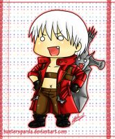 DMC3 Dante chibi by huntersparda