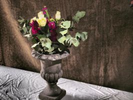 Still Life - Vase with Flowers by davepphotographer