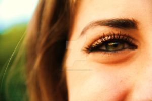 Eye of my beautiful friend by LoonyHermione