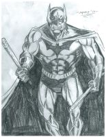 Batman Eskrima Sticks by FanBoy67