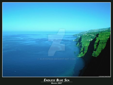 Endless Blue Sea by Alexspeed