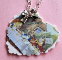 NEW Mad Tea Party Necklace by FatallyFeminine
