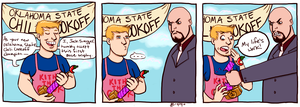 Big Show will break everything by KellyDawn