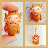 Sandy {RoTG} Clay Charm by Comsical