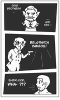 Belgravia cameos! by TheHalfBloodPierrot