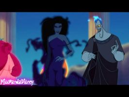 Hades and Eris Non/Disney Crossover by MissPandaDisney