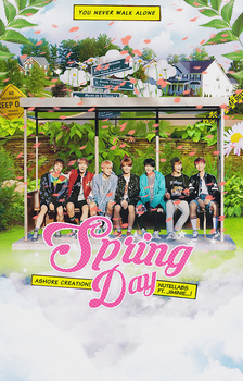 BTS // SPRING DAY by CHAEY04
