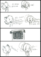Comic Fox Is A Real Artist by FyreLilly