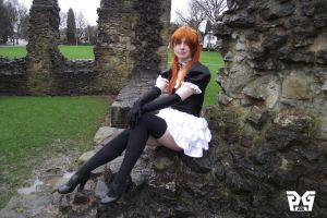 Gothic Lolita Asuka 1 by gaming-goddess