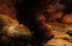 Truck in Trouble speedpainting by JakobHansson