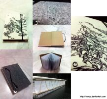 Birdie Handbound book by shirua