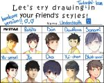 Friend's style Meme by Underd3ath