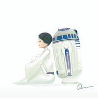 A Princess and a Droid by Chacou