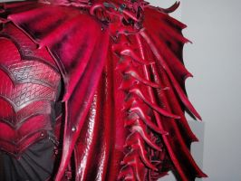 Dragon armor-Spine by Red-Dragon-Lord
