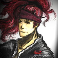 Renji Abarai - Bleach by Elilian