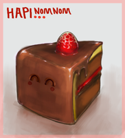 Hapi NomNom chocolate by Lollo