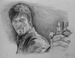 Daryl Dixon by Aguilas