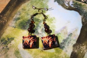 Rumpelstiltskin Earrings by KouranKiyo