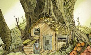 A house in the deep forest by Vannara