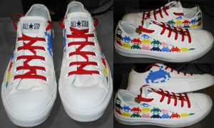 Shoes: Space Invaders by GAME-OVER-CUSTOM