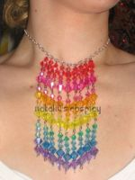 Rainbow Gems Necklace by Natalie526