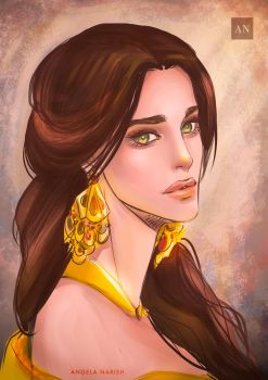 Belle by Angela-Narish