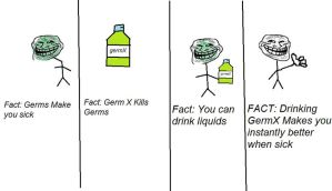 Troll science Germ-X by MikeAllenMikeAllen