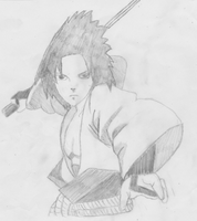 Sasuke Uchiha in Action by awesome0607