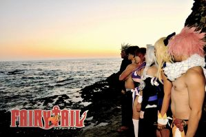 Fairy Tail Group Cosplay 1 by ZestyBliss