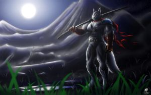 Wing Wolf - Warrior by Unreal-Forever