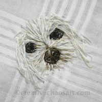 Freestyle Embroidery - Dog Handkerchief by bicyclegasoline