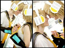 Len Kagamine: My Number One Princess by OztheNekoMaster