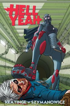 Hell Yeah issue 5 cover by astrobrain