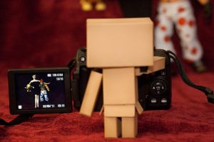 Danbo the Photographer by mnmjen
