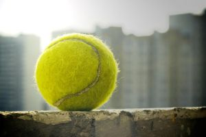 Tennis ball by dimichael