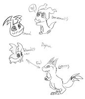 wtf digimon by TopHatHedgie