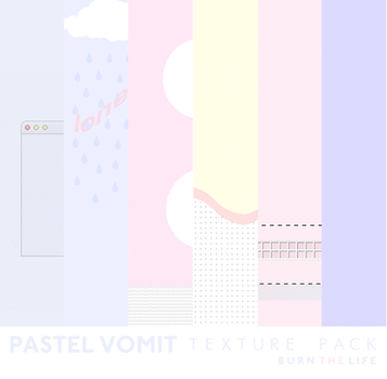 PASTEL VOMIT // TEXTURE PACK by Burn-the-life