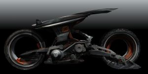 Concept Bike by scifilicious