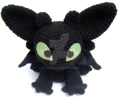 Toothless Amigurumi by LilDezzi