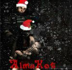 F.E.A.R. Merry Christmas by AlmaHot